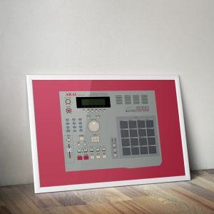 AKAI MPC 2000 Vector Illustration
