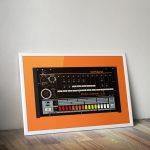 Roland TR808 Vector Print