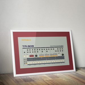 Roland TR909 vector print