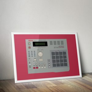 AKAI MPC 2000 Vector Illustration