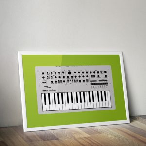 Korg Minilogue vector illustration