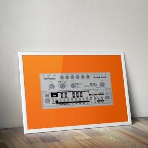 Roland TB 303 Vector Print